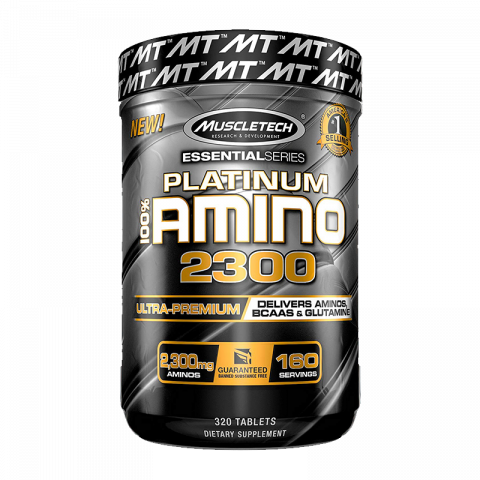 All-New Platinum 100% Amino 2300 - 320 caps
