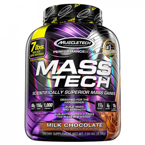 Mass-Tech - 7lbs - Milk Chocolate