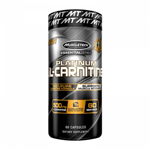 All-New Platinum 100% Carnitine - 180 Caps