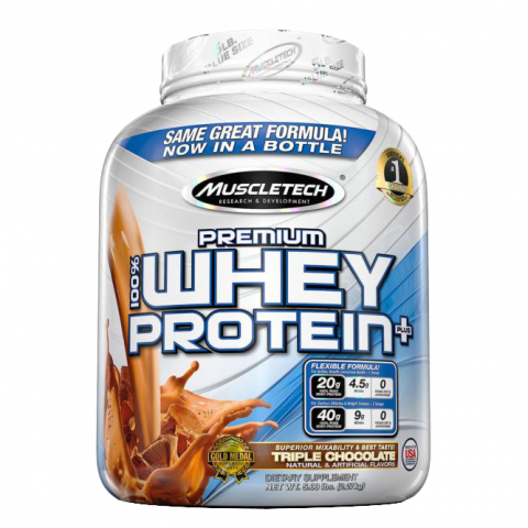 100% Premium Whey Protein Plus - New
