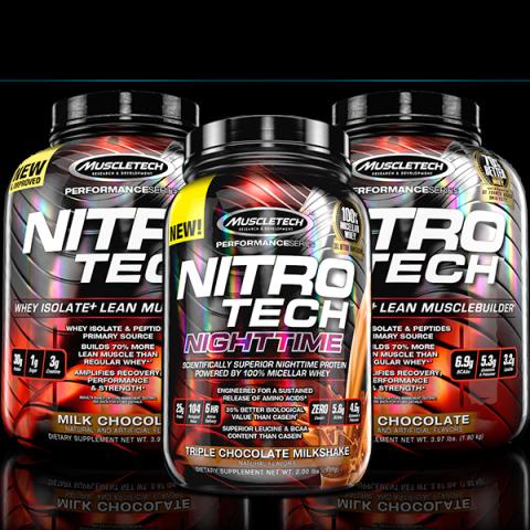 Set: NitroTech 3.97 lbs x2 Free NitroTech Nighttime