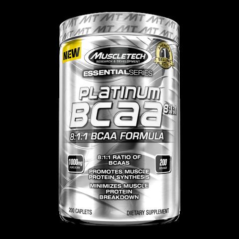 Platinum BCAA 8:1:1 - 200 caps